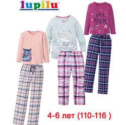 Домашняя одежда пижама 4-6 лет комплект для сна костюм домашний