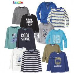 Реглан для мальчика комплект 2 шт Lupilu детский лонгслив хлопок футболка