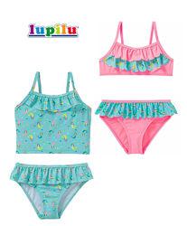 Купальник 1-2 года для девочки Lupilu танкини раздельный цельный Лупилу