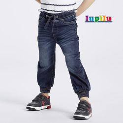 Джоггеры для мальчика 4-6 лет Lupilu джинсовые штаны модные спортивные
