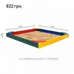 Деревянные песочницы для улицы от производителя. Низкие цены. Широкий выбор