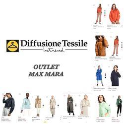 DIFFUSIONE TESSILE OUTLET MAX MARA под заказ