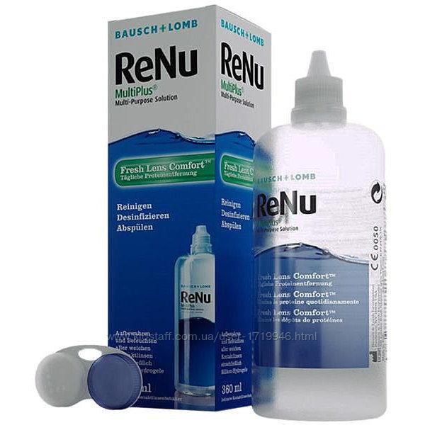 Раствор для линз ReNu MultiPlus 360мл