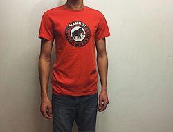 Мужская футболка Mammut Маммут Срр идеал оригинал красная