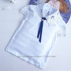 Школьная блузка кружево