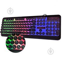 Клавиатура проводная игровая PSFY с подсветкой