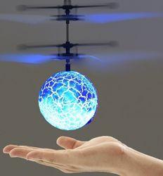 Игрушка Светящийся летающий шар игрушка с LED сенсором и подсветкой