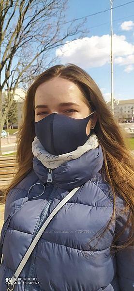 Многоразовая защитная маска Питта взрослая, подростковая, детская