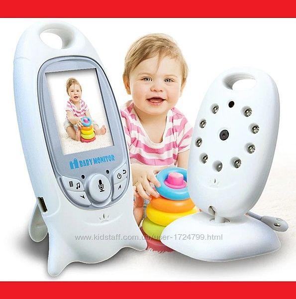 Видеоняня Baby Monitor с режимом ночного видения и двусторонней связ
