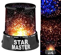 Детский ночник-проектор звездного неба  Star Master