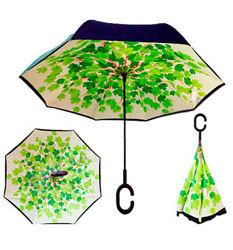 Зонт обратного сложения Up-brella Весна Номер-60
