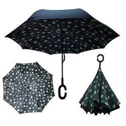 Зонт обратного сложения Up-brella Летние цветы Номер-56