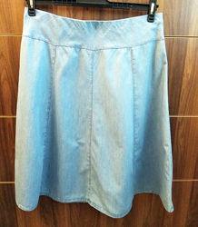 юбка летняя хлопок восьмиклинка от Marks&Spencer