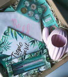 Подарочный набор подарок Surprise Wow Box бокс коробка канцелярия кактус