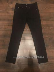 Брендовые черные брюки скини A. M. N Madness National