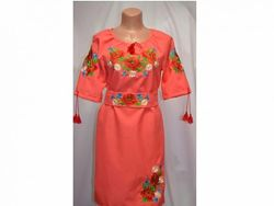 платье вишиванка