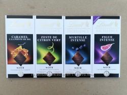 Шоколад Lindt Excellence 100g з різними смаками