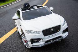 Детский электромобиль Jaguar F-Pace белый