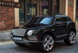 Детский электромобиль Bentley Bentayga premium edition чёрный