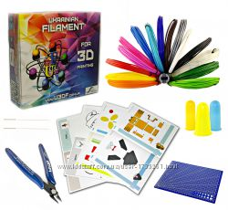 Набор для 3D творчества Сальвадо&769р Дали&769 c PLA ПЛА пластиком 15 цветов 75