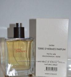Hermes Terre d&acuteHermes оригинальный тестер 100 мл