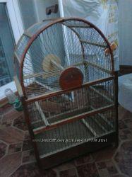 продается клетка для попугая
