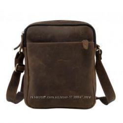 Кожаная мужская сумка, барсетка