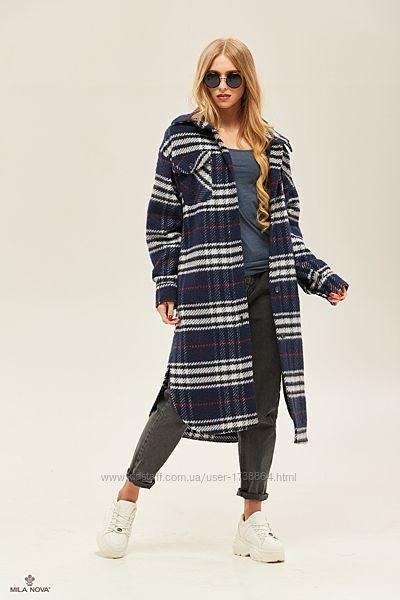 Пальто женское оверсайз размеры 42-52