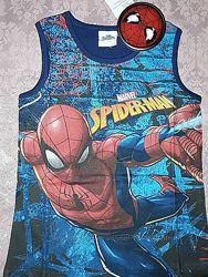 Модная футболка Спайдермен на 4-5 лет, Spider-Man Человек Паук.