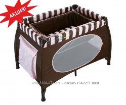 Манеж - кровать WonderKids Honeybee шоколадный WK23-H52-001 Новый