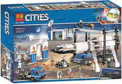 11388 Конструктор Lari Площадка для сборки транспорта для перевозки ракет А