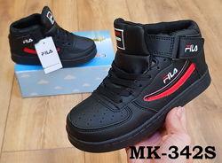 Крутые кроссовки для мальчика Fila