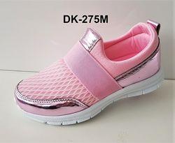 Модные кроссовки-мокасины для девочки