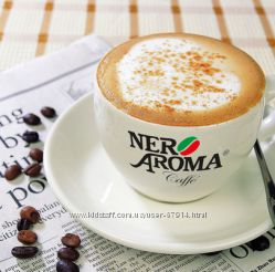 Кофе NERO AROMA. Италия. Оригинал. Подарки покупателям