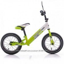 Детский беговел Azimut Balans 12, 14, 16  дюймов. Надувные колёса