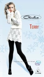 Теплые колготки  с махрой Terry ТМ Giulia р. 4