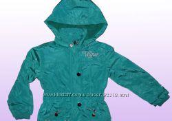 Осень 2021. Курточка подклада флис для девочки. В наличии 92-110р.