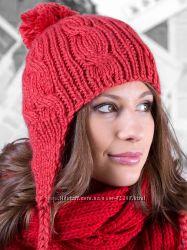 Осенние и зимние вязанные шапки