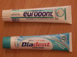 Зубные пасты для деток и родителей из Германии
