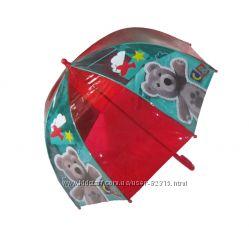 Прозрачные зонтики для мальчиков и девочек