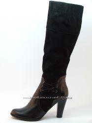 Осенние сапоги на каблуке 8, 5 см