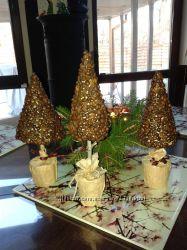 деревья из кофейных зерен ручной работы