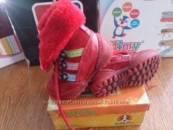 Pafi зимние ботиночки 21 размер 13 см