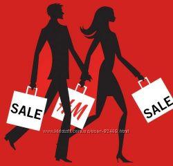 Услуги по покупки товаров с знаменитой европейской сети магазинов H&m
