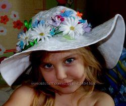 Красивейшая шляпка для Вашей малышки Подоляночка