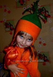 Комплект Морковка костюм на утреник