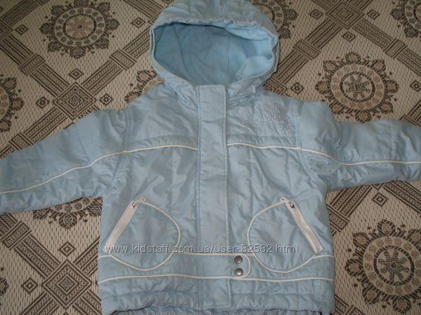 Термокуртка для девочки 86 р Германия
