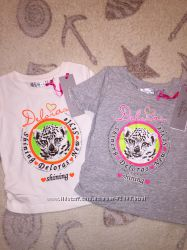 Фирменные футболки Deloras, есть размеры, большой выбор, 104-134
