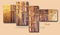Картина Золотое дерево