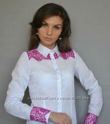 Женские блузки и блузки-боди высокого качества. Хлопок.